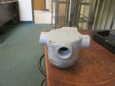 Crouse-hinds Explosion Proof Outlet Box Ev-26 12 Used