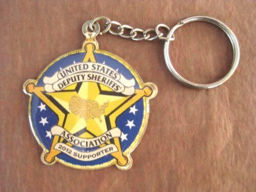 Police Key Chain 2012 United States Deputy Sheriffs Association Supporter