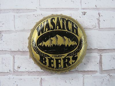 BEER Bottle Crown Cap ~*~ WASATCH Brewing Company ~*~ Park City, UTAH Since 1986 - Party City Crowns