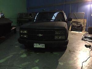 350 Chev ute v8 Chevrolet Silverado sidestep pickup truck Epping Whittlesea Area Preview