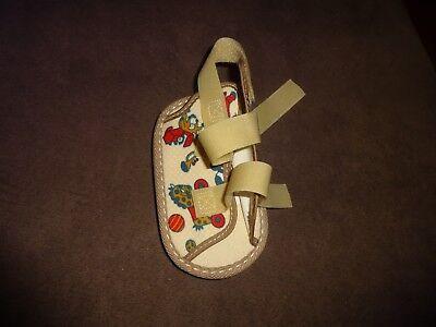 Toddler Clown Shoes (Sroufe Clown Print Cast Shoe Pediatric Infant Baby Toddler Child Sz Toddler XXS)