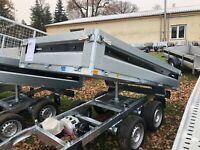 Brenderup Rückwärtskipper, 2000 kg, neu, eletr. Pumpe Brandenburg - Seelow Vorschau
