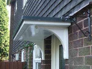 BRAND NEW  GRP DOOR  CANOPY  PLUS FREE BRACKETS