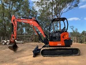 Kubota Excavator U55-4 Veteran Gympie Area Preview