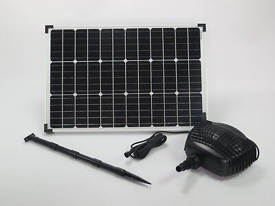 60 W Solar Stream Pump Pond Pump Solar Pump Waterfall Pump Pump Garden Pond