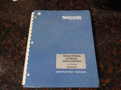 Tektronix 7623ar7623a Instruction Manual