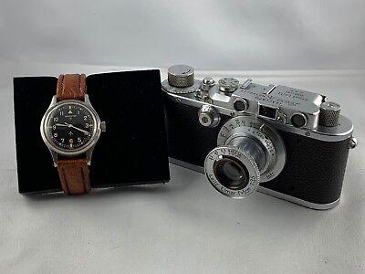 Original Leica III Royal Air Force mit Fliegeruhr Hamilton RAF *RARITÄT* gebraucht kaufen  Beuren