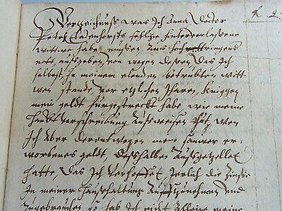 Handschrift HILDESHEIM 1603-06 // TAGEBUCH Ausgaben THATENHORST wegen KNIGGE