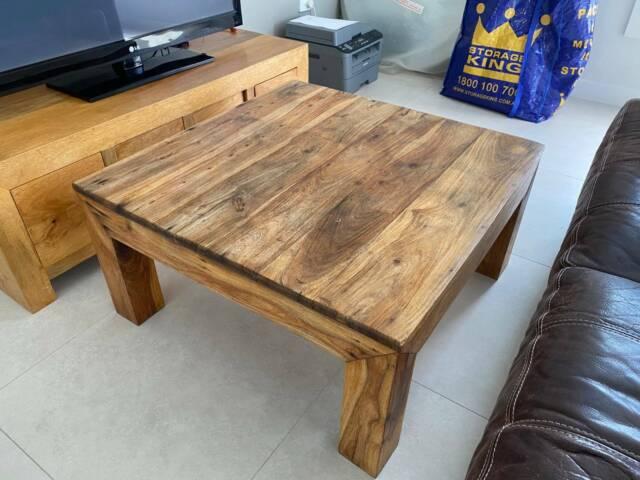 Teak coffee table | Coffee Tables | Gumtree Australia ...