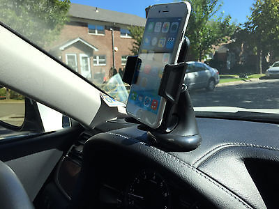 360 CAR DASHBOARD WINSHIELD MOUNT HOLDER STAND FOR SAMSUNG GALAXY MEGA 5.8 6.3 for sale  Shipping to India