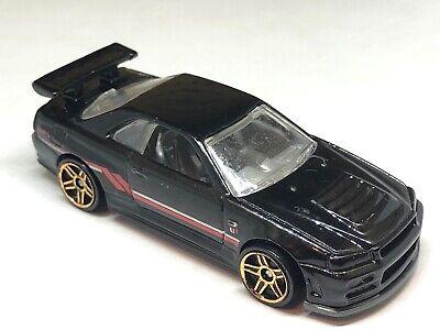 2009 Hot Wheels Nissan Skyline GT-R Black