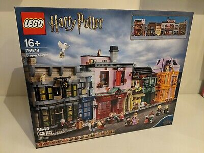 LEGO Harry Potter 75978 Diagon Alley BRAND NEW FACTORY SEALED and ships TODAY