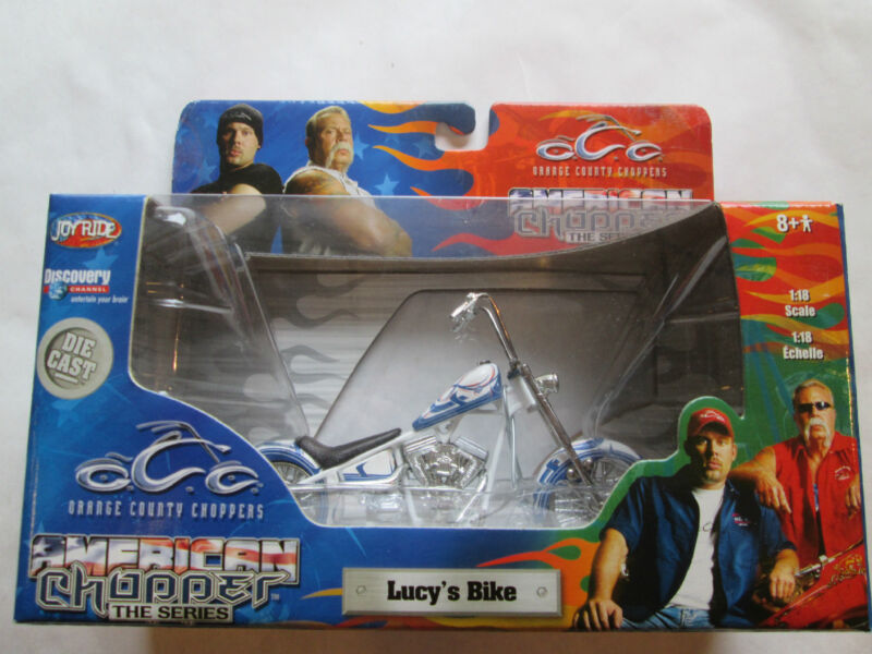 ORANGE COUNTY CHOPPER LUCYS DIECAST BIKE MOTORCYCLE COLLECTIBLE FREE SHIPPING US