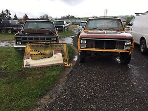 '80's Square Body Chev and GM trucks for sale.