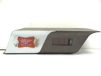Vintage Lakeside LTD Miller Brewing High-Life Bar Beer Advertising Clock Parts