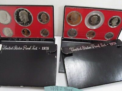 1978-S & 1979-S US Mint Proof Coin Sets   #C148