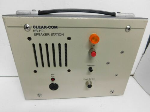 Clear-Com Intercom  KB-112 Speaker Station