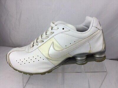 half off 70f31 d0618 NIKE SHOX Men s Classic II White White-Metallic Silver  343900-111 Size 9.5