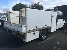 2005 FORD TRANSIT T350 CREW CAB CHASSIS 2.4 DT4 TURBO DIESEL Rochedale South Brisbane South East Preview