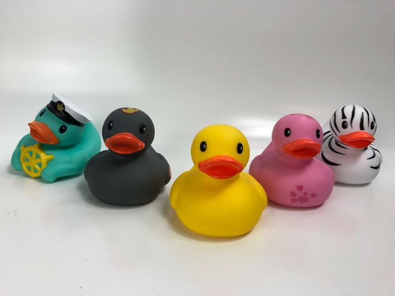 Infantino Rubber Ducks (Your Pick- See Details) Brand New