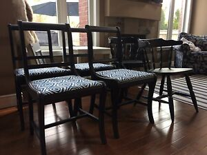 Set of dining/kitchen chairs