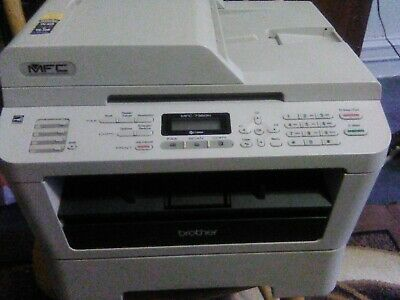 Mcf-7360n Brother Fax Machine With Extra Toner.