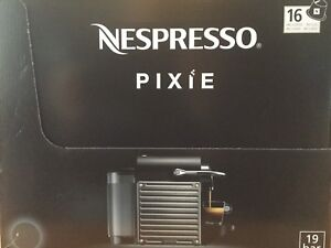 Cafetière neuve NESPRESSO Pixie new coffee machine