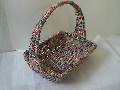Hand woven Christmas wicker baskets hand made decorative pieces home decor Lot 2 - Wicker Baskets Wholesale