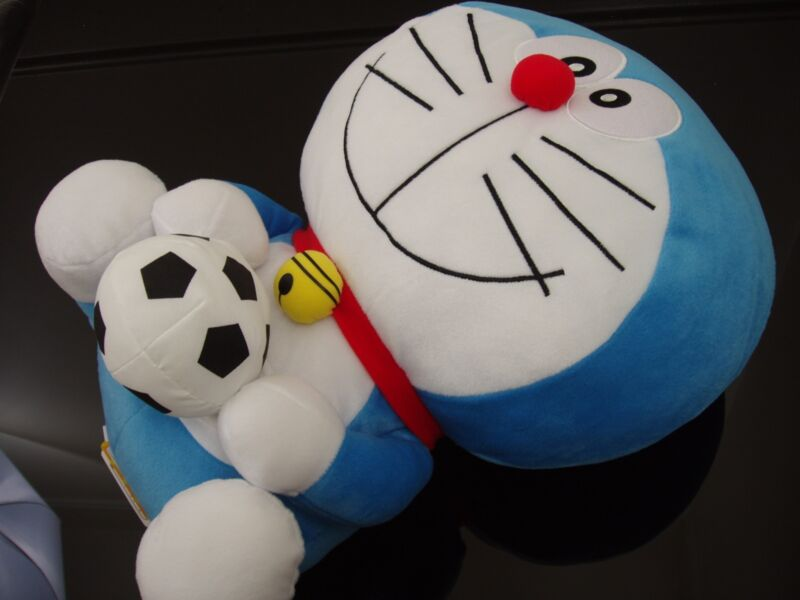 DORAEMON PLUSH - JAPAN IMPORT - STUFFED ANIMAL - JUMBO SIZE! NEW