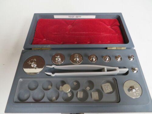 Troemner 5mg - 200g Mass Weight - Analytical Balance Calibration NR60