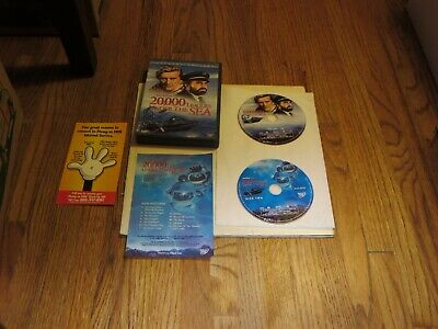 Disney's 20,000 LEAGUES UNDER THE SEA (DVD, WS, 2-Disc Special Edition) LIKE NEW