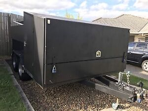 Aspinall brand custom multi use mower trailer Eagleby Logan Area Preview