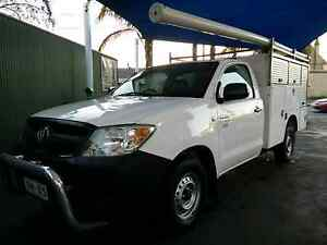 Toyota Hilux Ute, Hi Lux with REAR TRADE BOX service body Windsor Gardens Port Adelaide Area Preview
