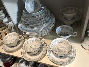 England bone China dishes, cup saucers