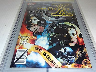 X-Files #4 CGC SS 9.8 Signature Autograph DAVID DUCHOVNY Signed Topps Comics 🔥 2