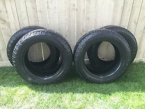 275/60R20 HANKOOK DYNAPRO ATM TIRES. ASKING $450 OBO