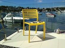 RESTAURANT CHAIRS FOR SALE - CUSTOM COLOURED seat PADS Revesby Bankstown Area Preview