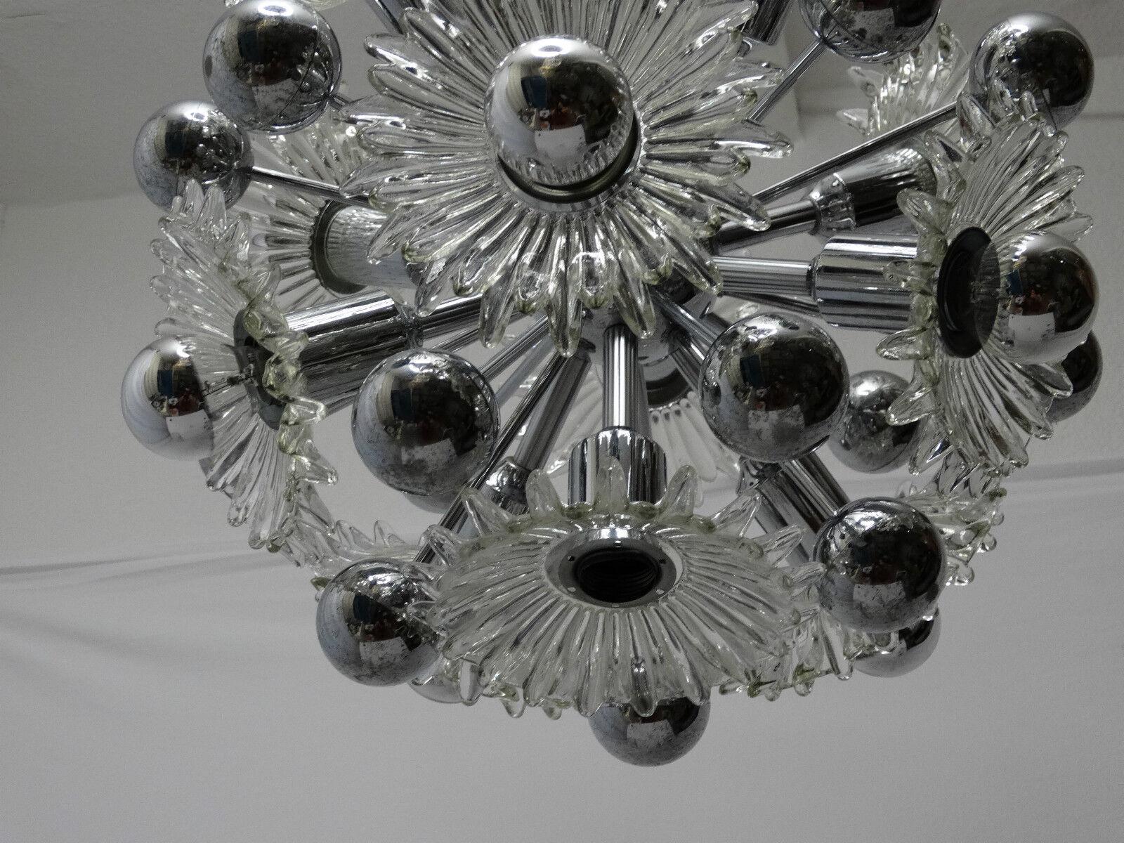 original 70er design deckenleuchte sputnik lampe leuchte. Black Bedroom Furniture Sets. Home Design Ideas