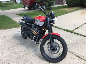 Reduced 2015 Triumph Scrambler