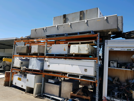 Various truck toolboxes
