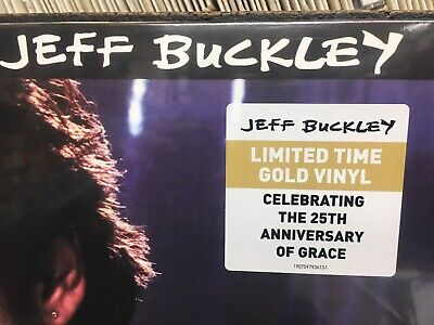 Jeff Buckley - Grace 25th Anniversary GOLD VINYL LP (SEALED) Includes Hallelujah