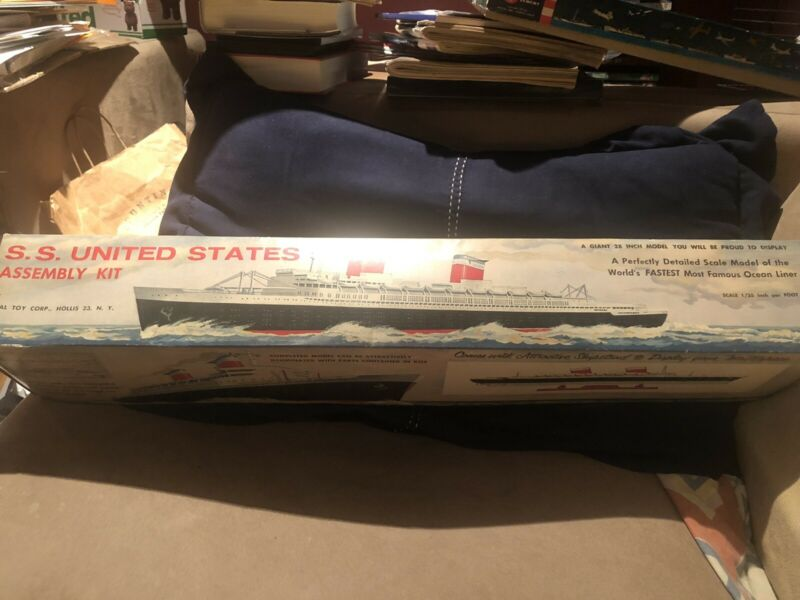 IDEAL TOY COMPANY 1954 ORIGINAL SS UNITED STATES - RARE MINT!