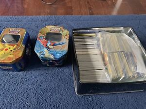 Lots of Pokémon cards