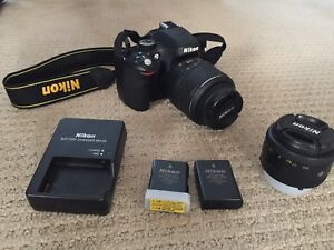 Nikon D5100 with Lowpro Backpack