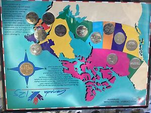 Canadas 125 coin collection