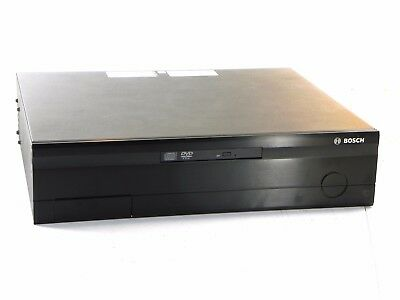 Bosch Db06c1012d2 6 Channel Dibos Dvr 120 Gb Hdd Cd-rw W Aladdin Dongle As-is