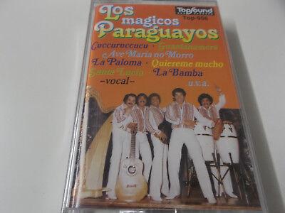 45262 - LOS MAGICOS PARAGUAYOS - SAME (S/T) - TOP SOUND MUSIKKASSETTE - NEU!