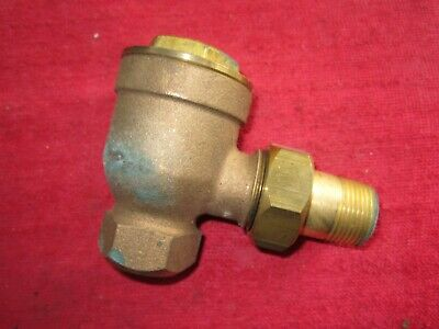 Vintage Nos Hoffman 18c 34 X 34 Angle Pattern Thermostat Trap 33-20299