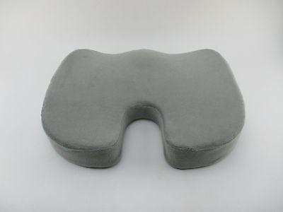 Sit-ez Memory Foam Coccyx Seat Cushion Orthopedic Comfort Chair Cushion W Gray