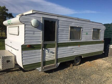 Old school cool caravan  Meadows Mount Barker Area Preview